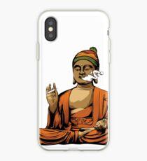 Buddha Smoking a Blunt iPhone Case