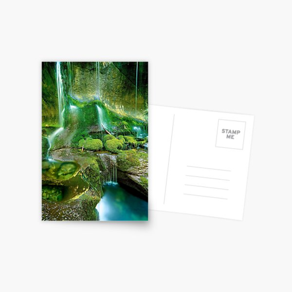 Rainforest Cascades, Tasmania Postcard