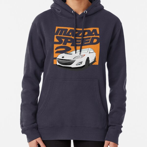 Mazda Motor Mazdaspeed 3 6 Protege RX7 RX8 Pullover Hoodie Jacket Hooded Sweater