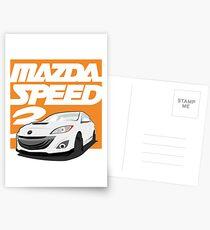 Mazdaspeed 3  Postcards