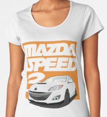 Mazdaspeed 3  Women's Premium T-Shirt