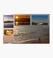 West Kirby at Sunset Photographic Print