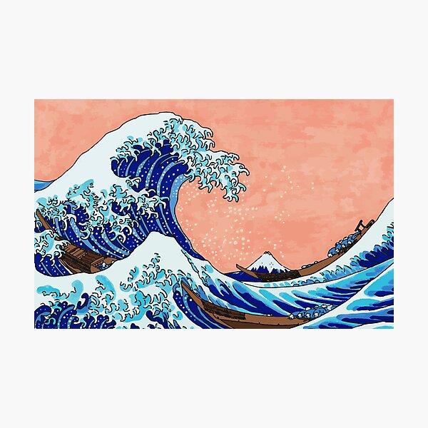 The Great Wave of Kanagawa Photographic Print