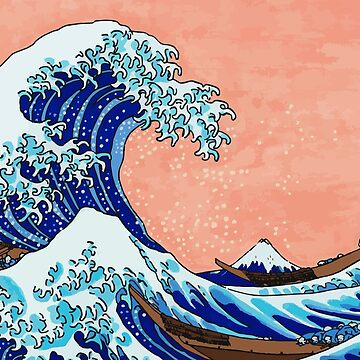The Great Wave of Kanagawa by poisondesign