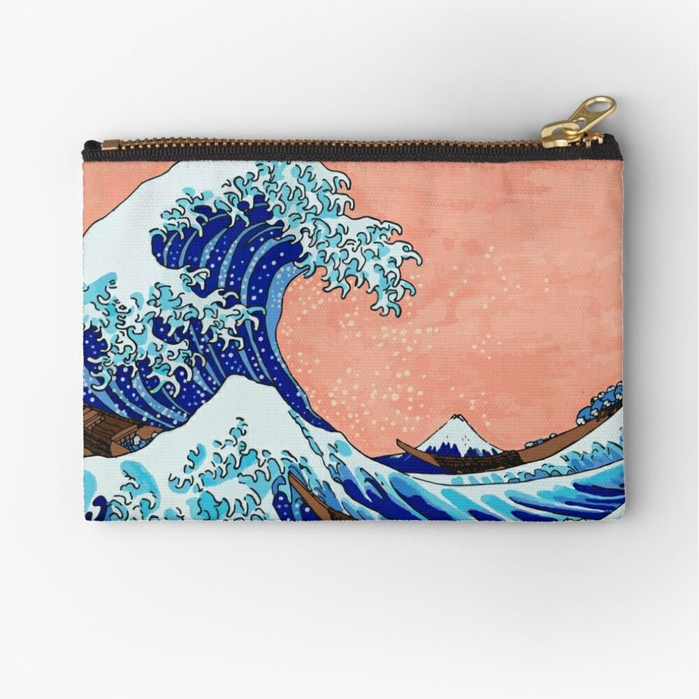 Die große Welle von Kanagawa Täschchen