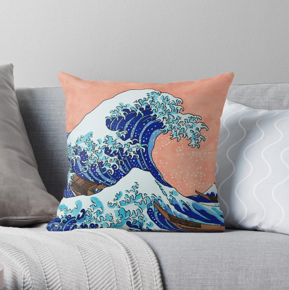 Die große Welle von Kanagawa Dekokissen