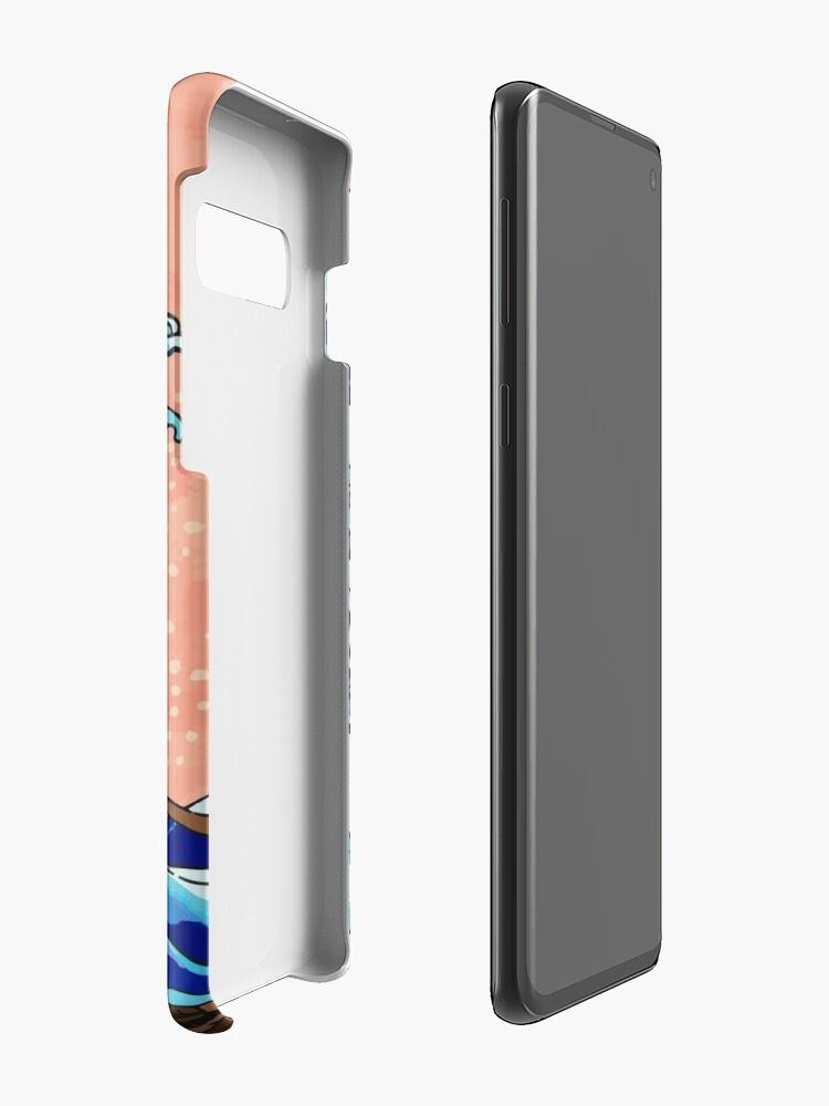 Alternative Ansicht von Die große Welle von Kanagawa Hülle & Klebefolie für Samsung Galaxy