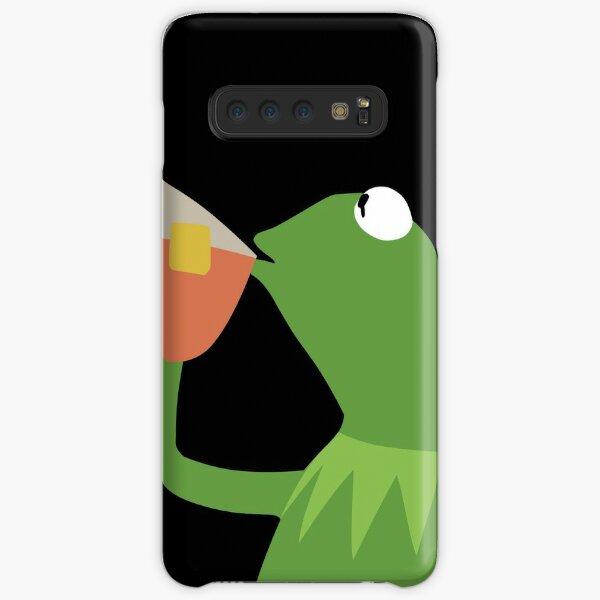 Kermit Sipping Tea Samsung Galaxy Snap Case