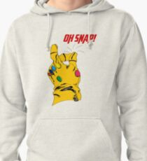 """Thanos Infinity Gauntlet """"Oh Snap!"""" Pullover Hoodie"""