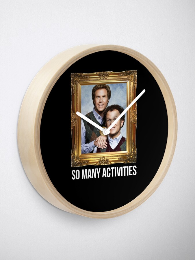 Alternate view of So Many Activities Clock