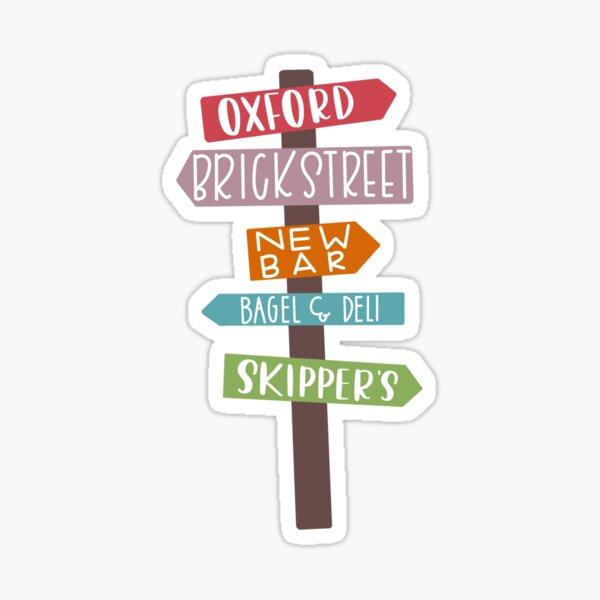 Oxford, OH Sticker