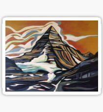 Mount Assiniboine Sticker