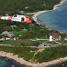 MH-60J Over Nobska Light by Brian Puhl IPA