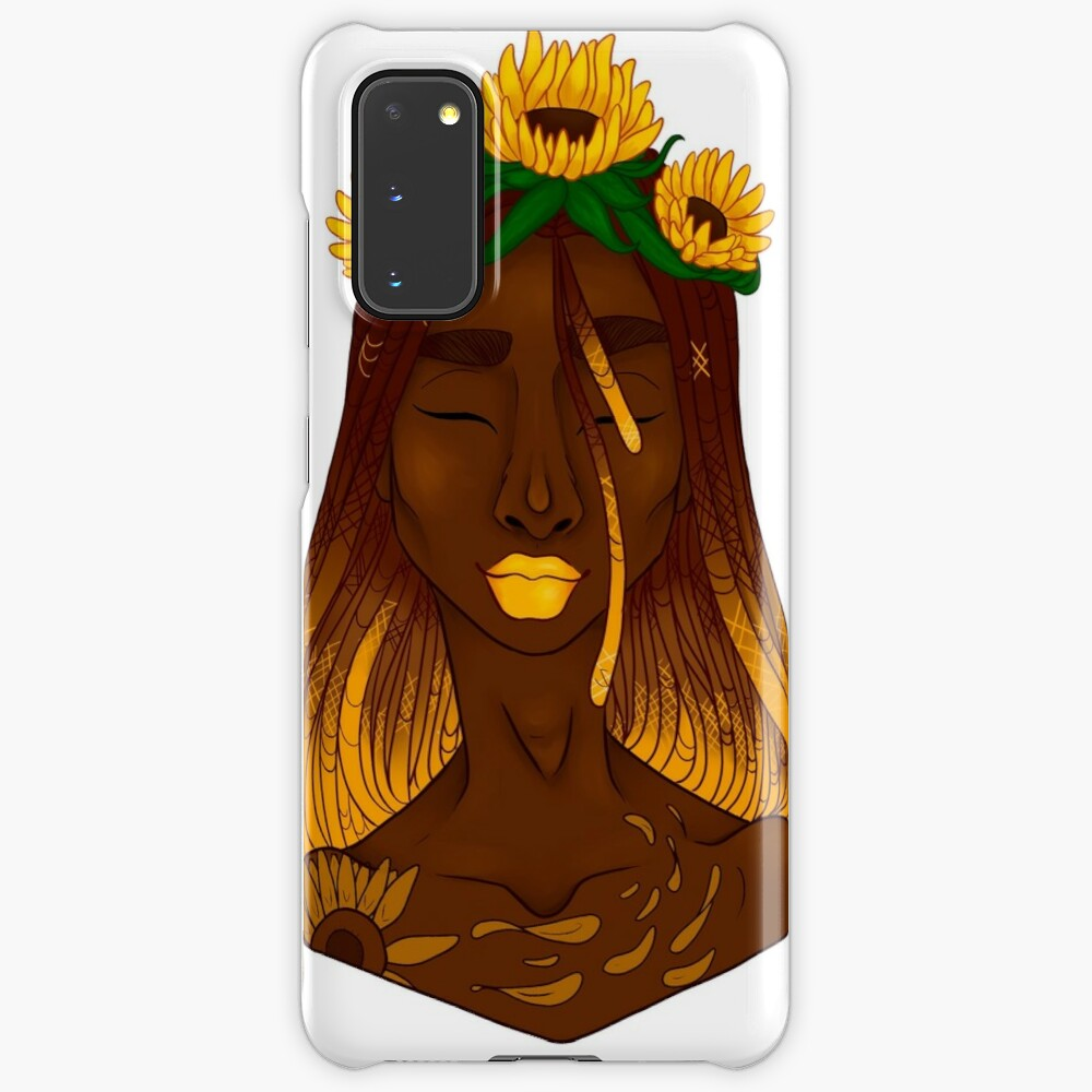 the sunflower Case & Skin for Samsung Galaxy