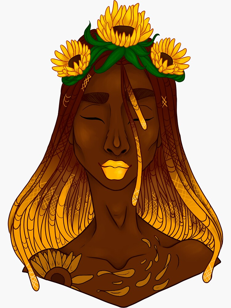 the sunflower by gabiioartist