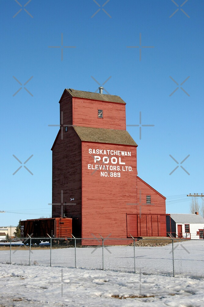 Grain Elevator - Western Development Museum, North Battleford, Saskatchewan by Vickie Emms