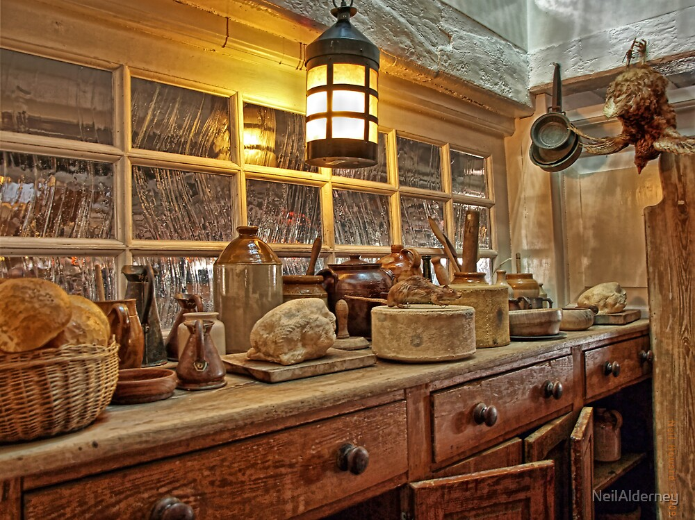 """The Galley on HMS """"Victory"""" -1805  by NeilAlderney"""