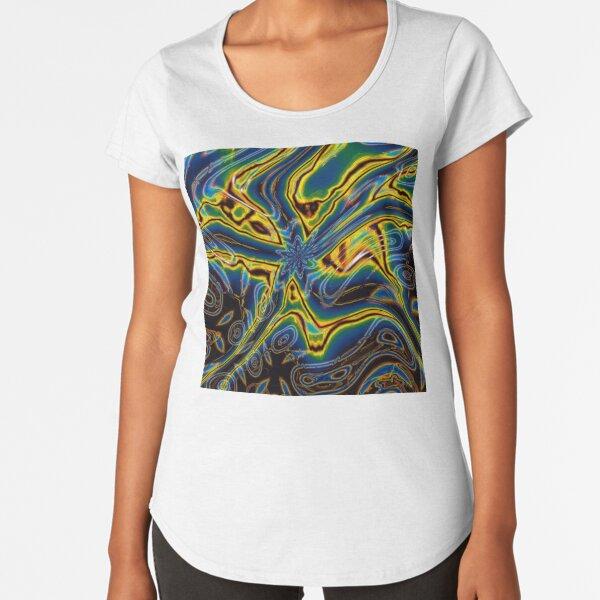Iridescent Stars 6 Premium Scoop T-Shirt