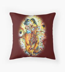 Radhe Krishna - Love moments Floor Pillow