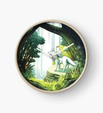 Princess Mononoke - The Wolf Princess  Clock