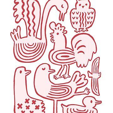 Birds by HuiSkipp