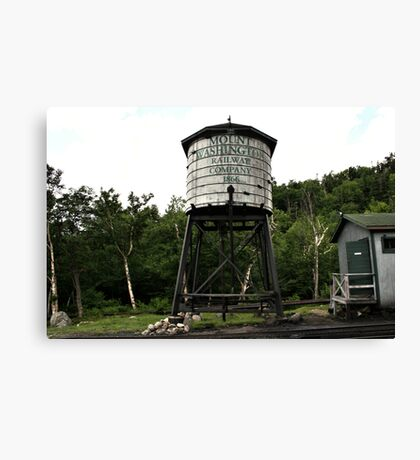 Water Tower At Mount Washigton Canvas Print