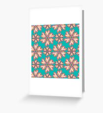 Flower pattern Greeting Card