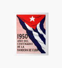1950 Cuban Flag Centennial Art Board  sc 1 st  Redbubble & Vintage Cuban Flag: Wall Art | Redbubble