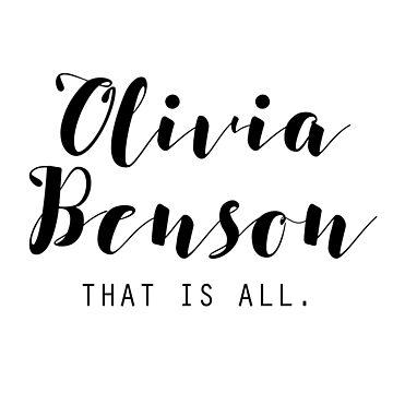 Olivia Benson by beautifullove
