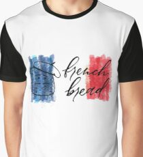 French Bread Graphic T-Shirt