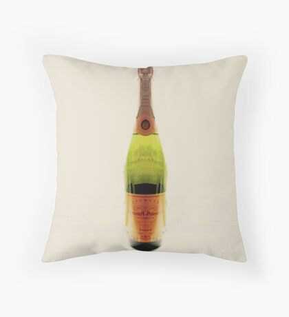 HighKey Champagne Throw Pillow