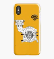 Mazda Rotary Engine Blueprint for Power 13B iPhone Case