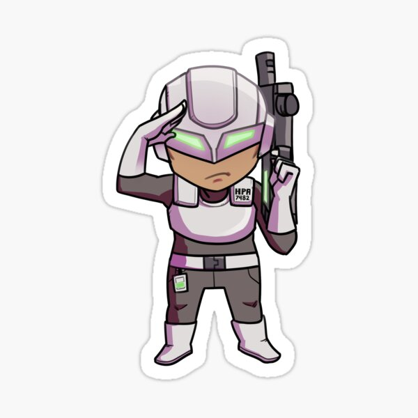 HPA Soldier # 7482 Sticker