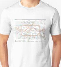 Berlin U-Bahn Map - Germany Unisex T-Shirt