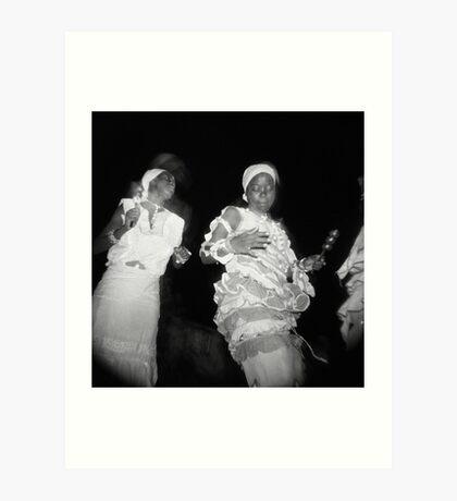 Dancing to enlightenment Art Print