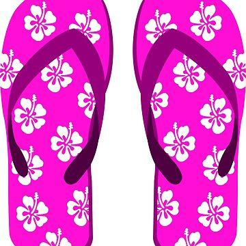 flip flops by Megabeach