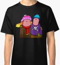WOOLEY HAT NEW YORK COUPLE Classic T-Shirt