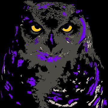 NIGHT OWL  by johnnyssandart