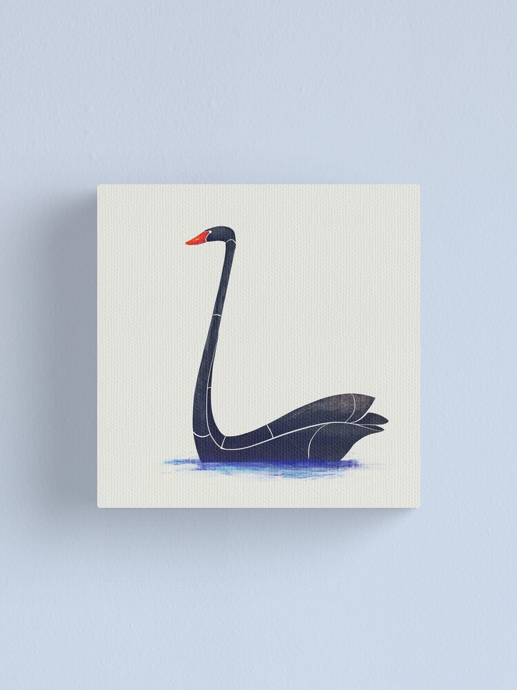 Black swan | Canvas Print