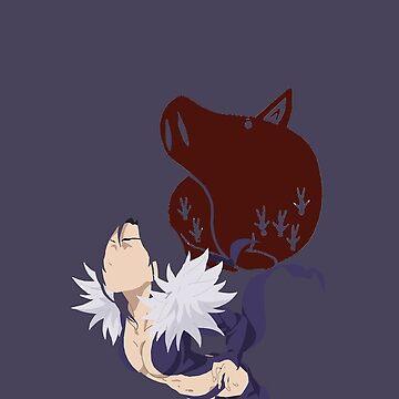 Merlin, Nanatsu No Taizai by The-Artist