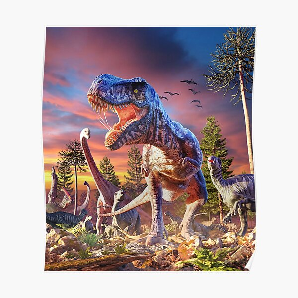 T-Rex_Attack Poster