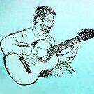 The Guitarist by Albert