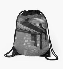 Renovator's Delight- Miner's Cottages, Burra North. Drawstring Bag