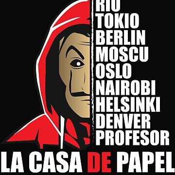 ACTORS OF THE PAPEL CASA - ACTOR LACASA OF PAPEL - The TV series BALCK by Theworrior