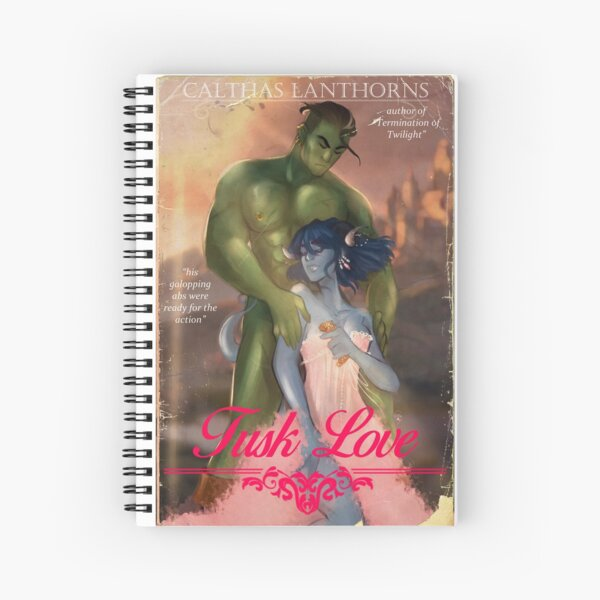 Tusk Love Spiral Notebook