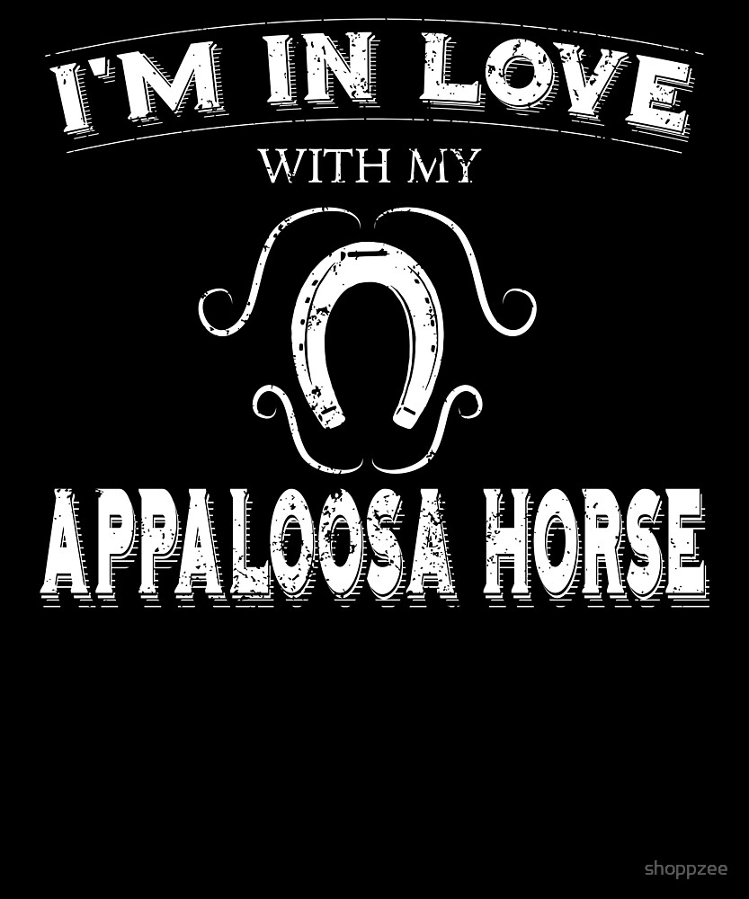 Anti Valentine Love Appaloosa Horse by shoppzee