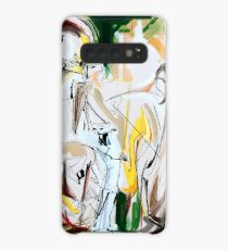 Expressive Musicians Playing Cello Flute Accordion Saxophone Drawing Case/Skin for Samsung Galaxy
