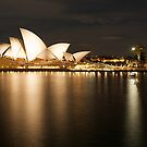 """ Golden Lady .. Sydney Opera House "" by Darren Gray"