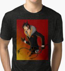 Devil Mark Tri-blend T-Shirt
