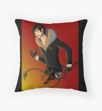 Devil Mark Throw Pillow